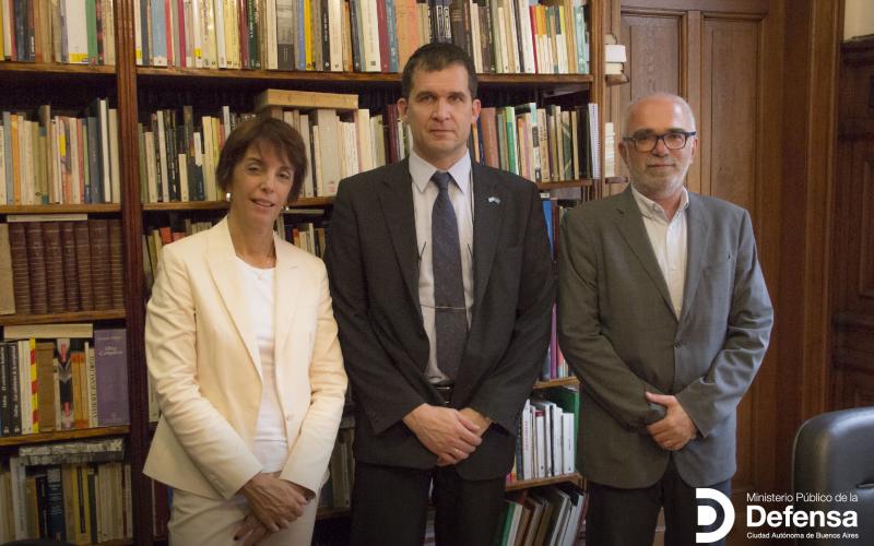 El MPD recibió al Relator Especial sobre la tortura de Naciones Unidas