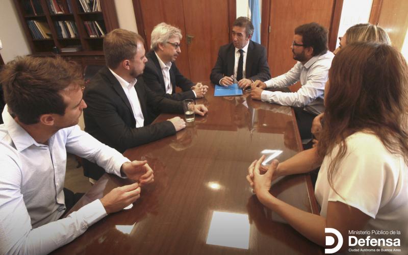 El MPD firmó un convenio de cooperación con el Ministerio de Justicia de Nación