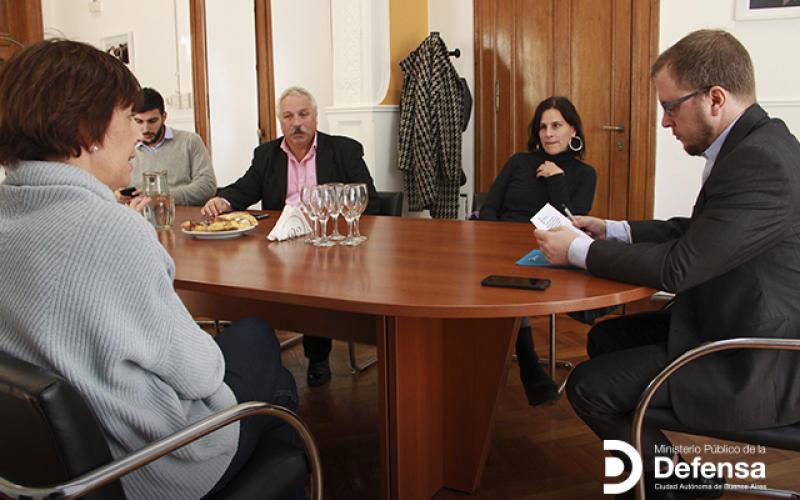 El MPD firmó un convenio de cooperación con la Asociación Identidad