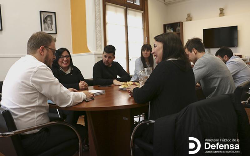 El MPD firmó un convenio de cooperación con el Consejo Profesional de Graduados en Trabajo Social