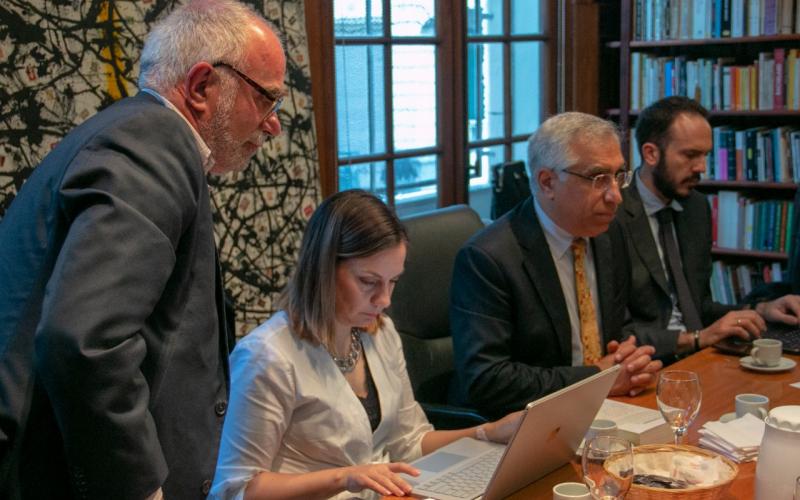 El MPD recibió al Relator Especial de Naciones Unidas sobre el derecho a la privacidad