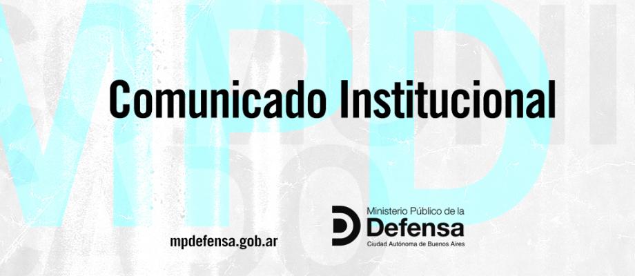 Comunicado institucional: Viviendas vacías en la ciudad y emergencia habitacional