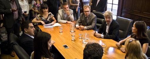 Firma del Convenio Marco de Cooperación con la Auditoría de la Ciudad