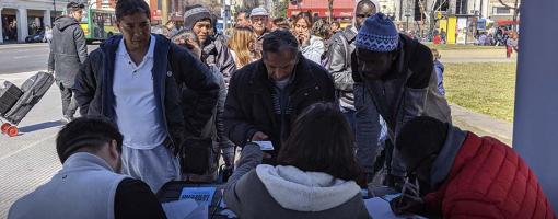 El MPD realiza el primer relevamiento de trabajadores de la economía popular